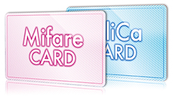 Mifare、FeliCaカード