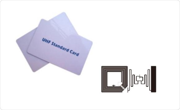 コンビネーションICカード(HF+UHF帯)のサンプル写真