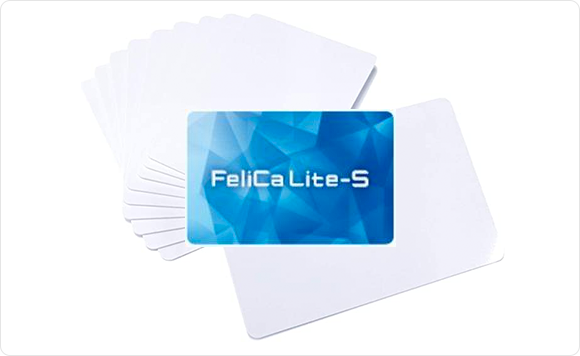 FeliCa Lite-Sのサンプル写真