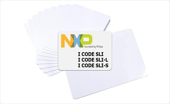 IcodeSLIXカードのサンプル写真