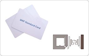 HF/UHF帯コンビカードのサンプル写真
