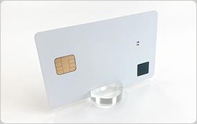 指紋認証カードのサンプル写真