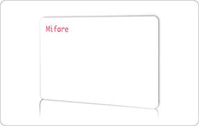 紙製ICカード/名刺サイズのサンプル写真