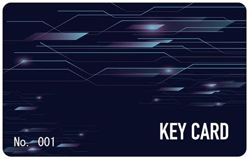 テンプレート KEY CARD-01