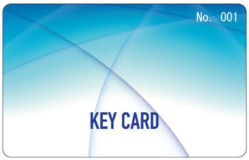 テンプレート KEY CARD-02