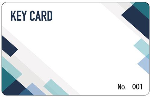 テンプレート KEY CARD-03
